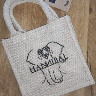 Hannibal Gin Jute-Geschenktasche