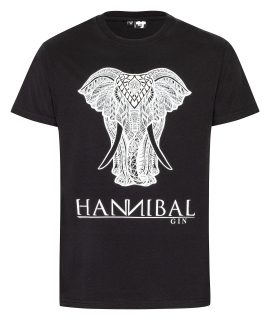 "Hannibal Gin T-Shirt Herren ""schwarz"""