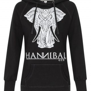"Hannibal Gin Hoodie Girly ""schwarz"""
