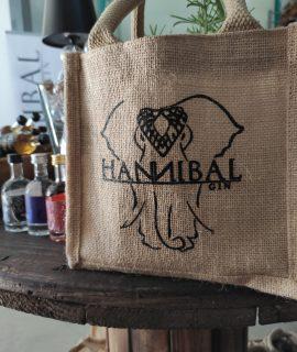 Hannibal Gin 0,2l Inkl. Jute-Geschenktasche