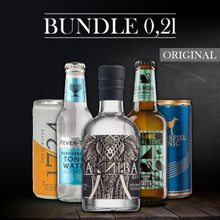 Bundle-Hannibal Gin 0,2l
