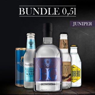 Bundle-Hannibal Gin JUNIPER 0,5l