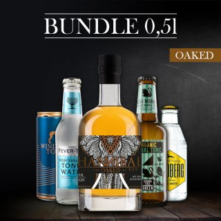 Bundle-Hannibal Gin OAKED 0,5l