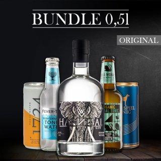 Bundle-Hannibal Gin 0,5l